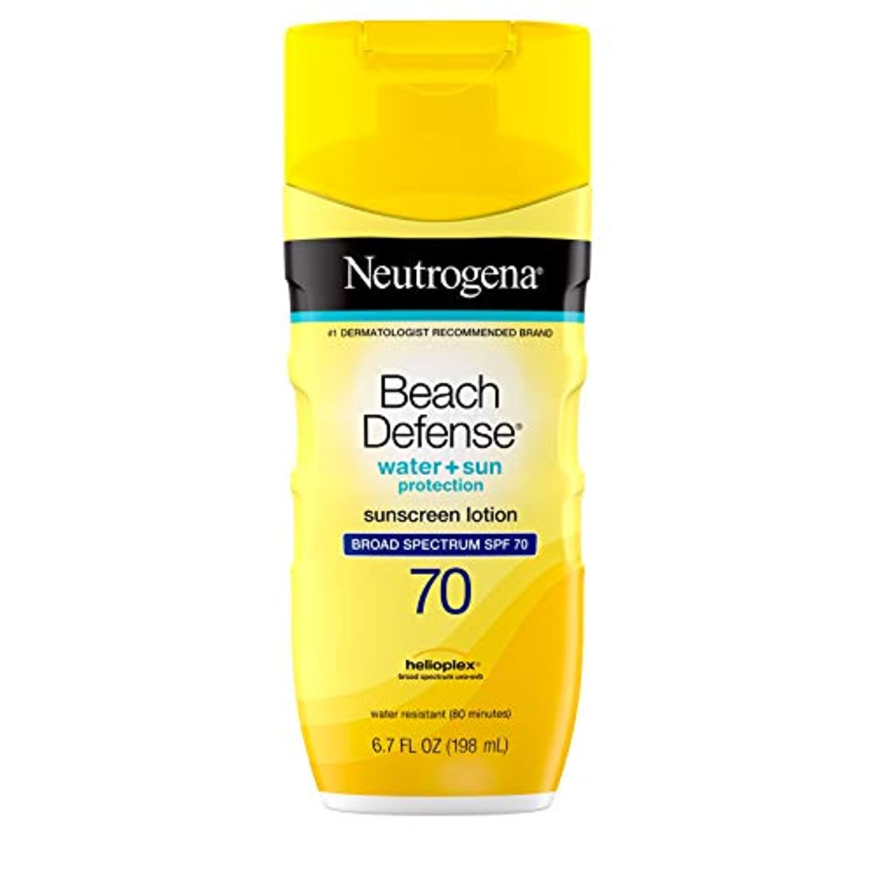 訴えるプーノ薄いです海外直送品Neutrogena Neutrogena Beach Defense Lotion SPF 70, 6.7 oz