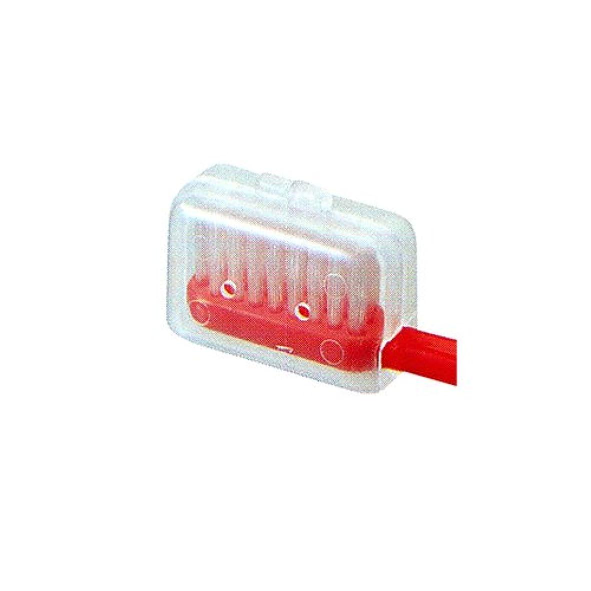 放出勝利した弾性ビーブランド 歯ブラシキャップ1個 (M)