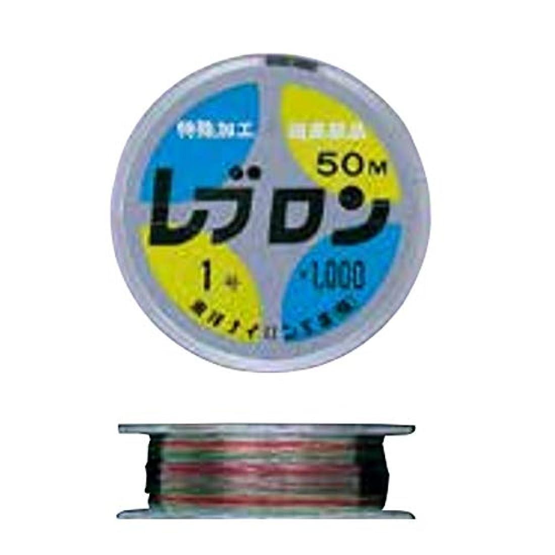没頭する自分のために追記【DIAFISHING/ダイヤフィッシング】レブロン 4色 見える道糸 50m