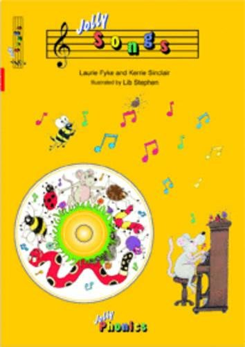 Jolly Songs (book and CD): in Precursive Letters (BE) (Book & CD)