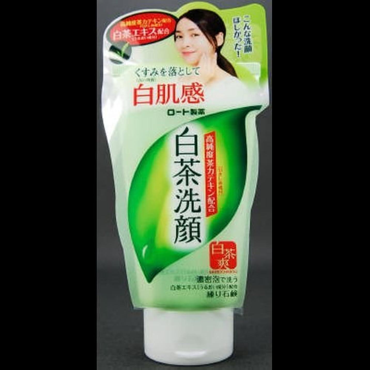 認識雑草同様の【まとめ買い】白茶爽 白茶練り石鹸 ×2セット