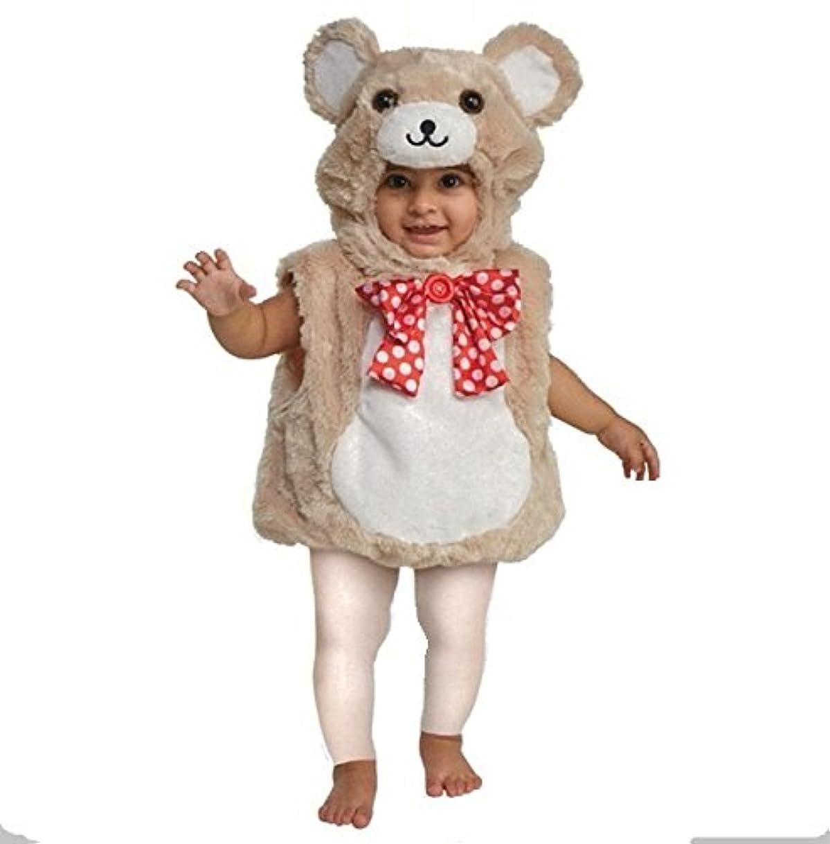 馬鹿仮定、想定。推測大胆BOO BABIES 可愛い クマさんのコスチューム 9から18か月 ベビー着ぐるみ 赤ちゃん くま カバーオール ロンパース キッズコスチューム 男の子 女の子 90 [並行輸入品]