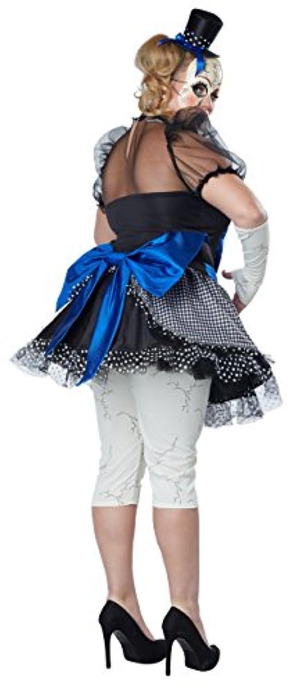 California Costumes 女性のプラスサイズのツイストBA人形大人 1X