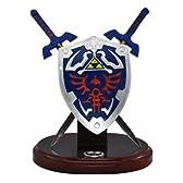 Zelda Hylian Letter Opener Shield & Sword Table Top Set / ゼルダの伝説 デスクトップ ハイリアンシールド&マスターソード レターオープナーセット 【並行輸入】