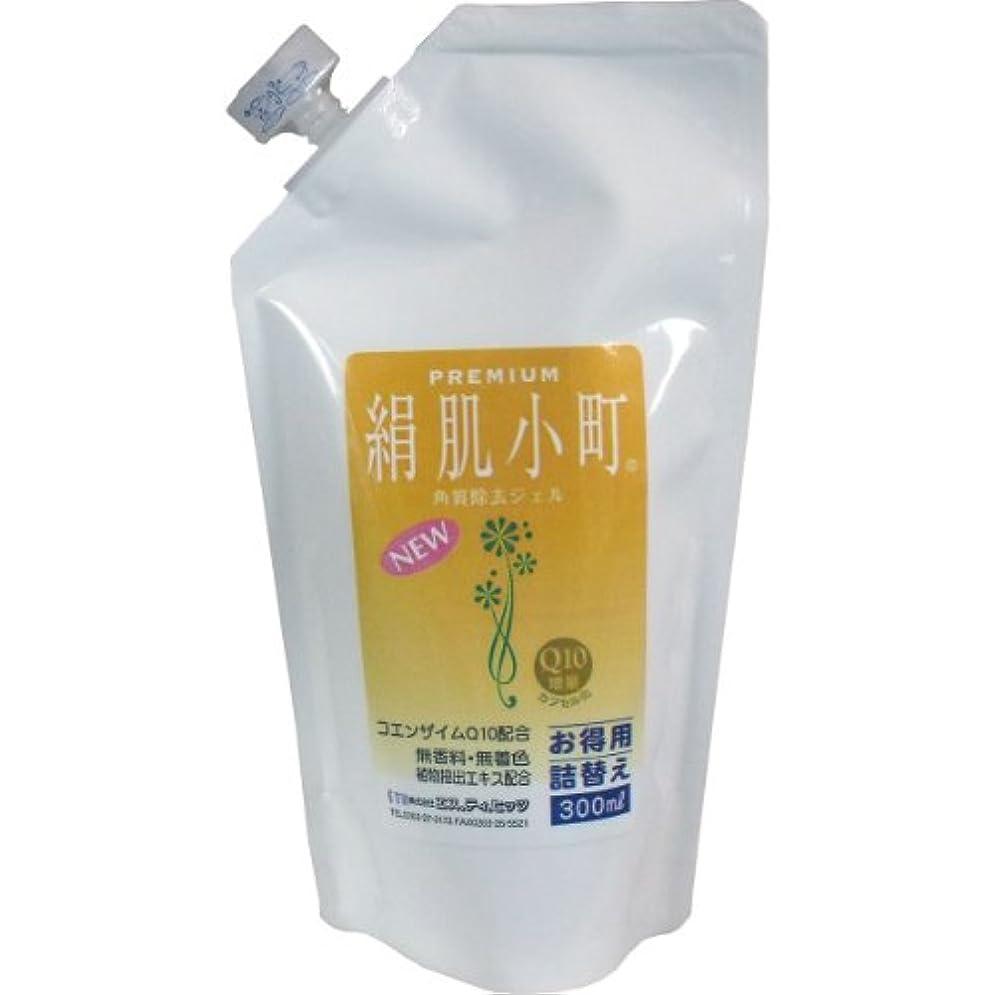 位置づける汚染励起プレミアム 絹肌小町 角質除去ジェル 詰替用 300mL 2個セット