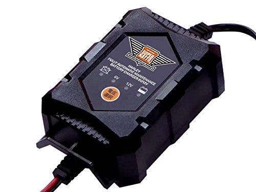 バイクバッテリー充電器6V/12V切替式 ハーレー専用充電器 サルフェーション除去機能付 BCHARLEY
