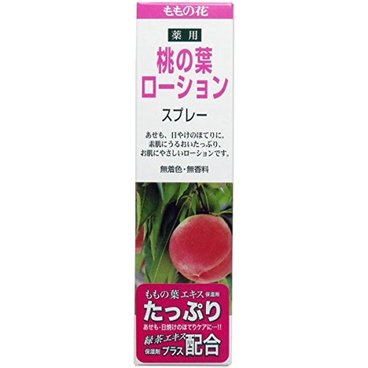 名誉ある勢い論理的薬用桃の葉ローションスプレー 145ml