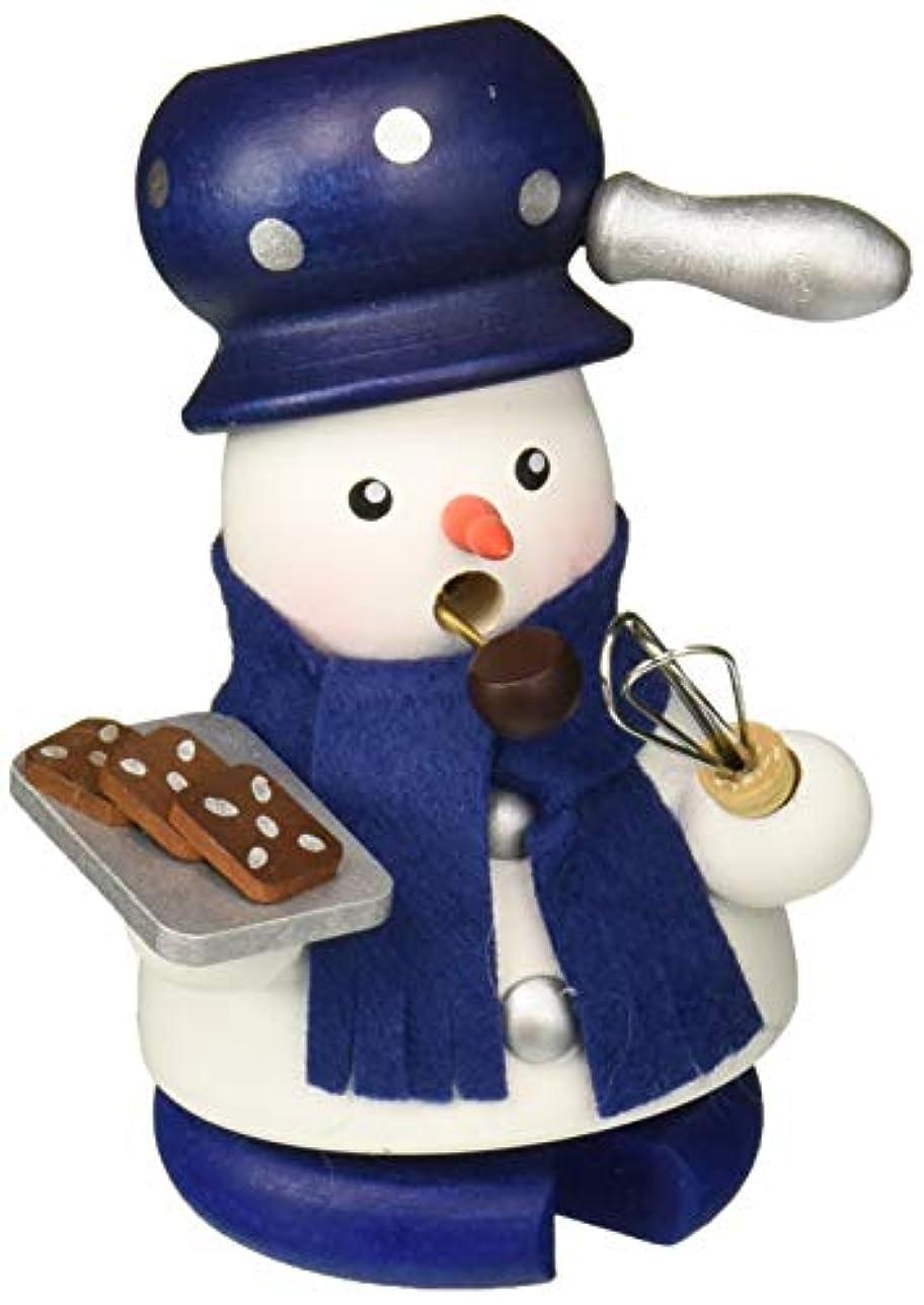 引退した理容師ピクニックをするAlexander Taron Christian Ulbricht装飾雪だるまBaker Incense Burner