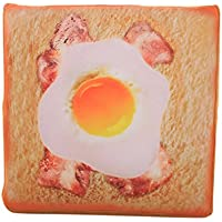 DRASAWEE(JP)クッション パン型 本物そっくり 抱き枕 座布団 猫用ソファ 柔らかい プレゼント ギフト おもちゃ ふわふわ 洗える 38*38cm