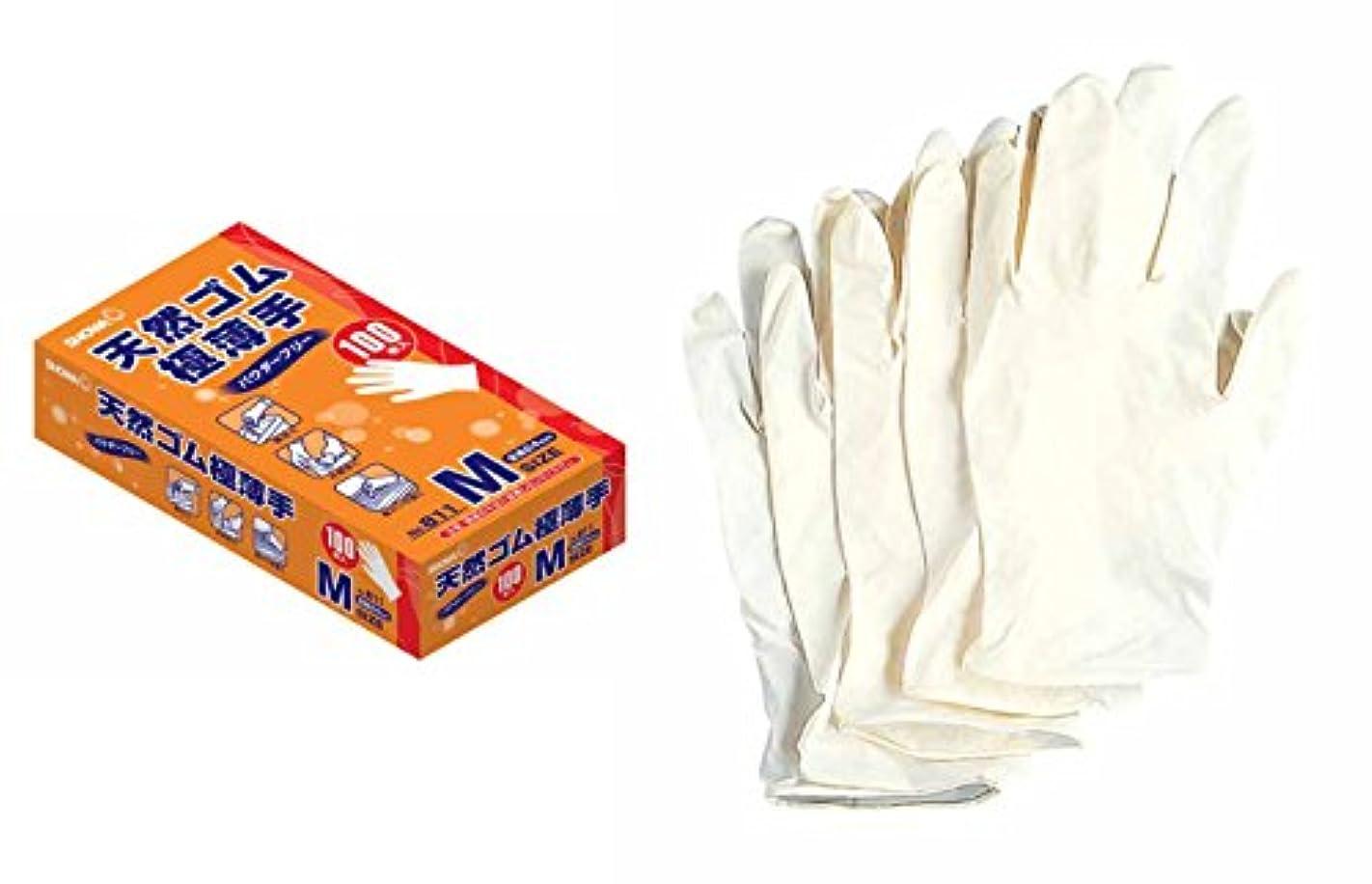 出くわす急流保持[ショーワグローブ]ディスポーザブル手袋【天然ゴム極薄手】(100枚入×5函?パウダーフリー)《035-811?S》