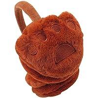 Lovely Earmuffs Plush Earmuff Warm Earmuffs for Kids Or Adults [Cute Paws-2]