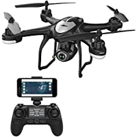 Potensic ドローン GPS搭載 高度・座標ホバリング 1080P 120°広角HDカメラ付き フォローミーモード オートリターンモード WIFIリアタイム 国内認証済み T18