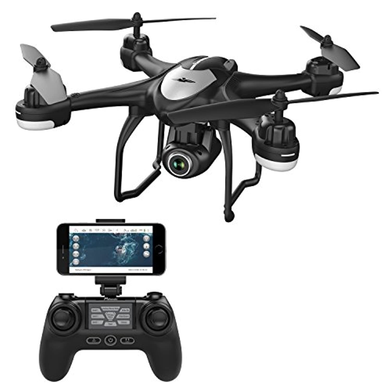 Potensic ドローン GPS搭載 高度?座標ホバリング 1080P 120°広角HDカメラ付き フォローミーモード オートリターンモード WIFIリアタイム 国内認証済み T18