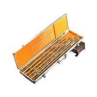 KEHUITONG 竹笛、ハイエンドセット笛、プロの楽器、A、C、D、E、F、GダウンE 高品質の楽器 (Color : Brown-1)