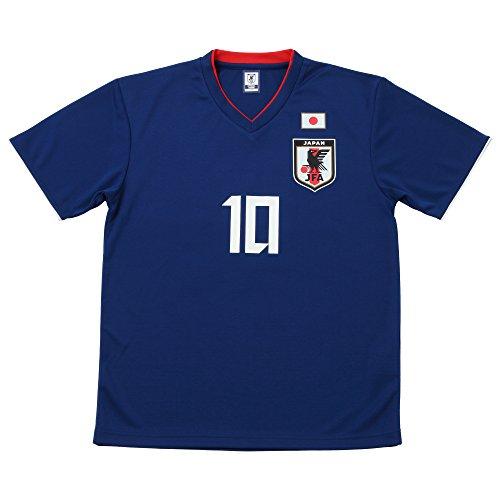 JFA サッカー日本代表 2018年 プレーヤーズTシャツ 香川真司 No.10 O-049 XS