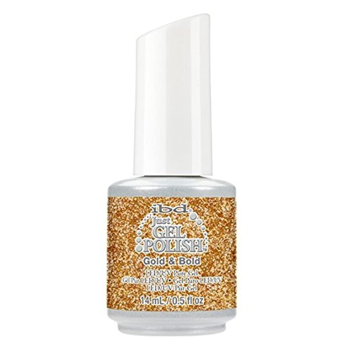 発掘うなり声取るibd Just Gel Polish - Diamonds+Dreams Collection - Gold & Bold - 14 mL / 0.5 oz
