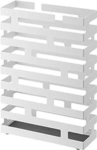 Amazon.co.jp : 山崎実業 傘立て ブリック ワイド ホワイト 2360 : ホーム&キッチン
