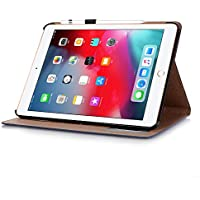 2018 ipad Pro 11 ケース スタンド機能 SIMPLE DO ipad Pro11 保護カバー apple pencil収納 手帳型 PUレザー カード収納 小銭入れ 全面保護 軽量 おしゃれ ipad Pro11インチ対応(ブルー)