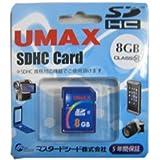 UMAX SDHC Class10 8GB UM-SDHC-C10-8G