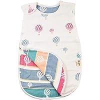 Mi-baby スリーパー 赤ちゃん ガーゼ スリーパー 子供 綿 冬用 毛布 スリーパー ベビー lサイズ 100cm 6重ガーゼ 出産祝い ギフト(新生児~3歳頃)(2-7歳)