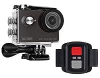ACME VR07 Wi-Fiおよびリモコン付きフルHDアクションカメラ - ブラック