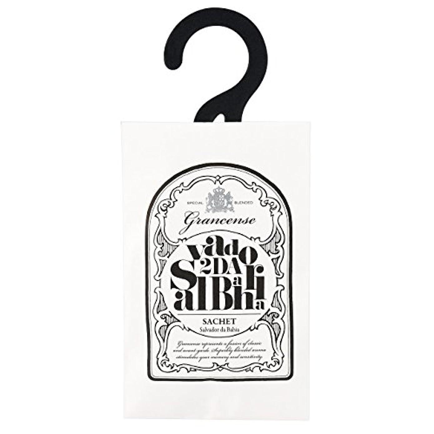 マイク花瓶フィクショングランセンス サシェ(約2~4週間) サルバドール 12g(芳香剤 香り袋 アロマサシェ ライムとミントの爽やかさにバニラの甘さを感じる南国のような香り)
