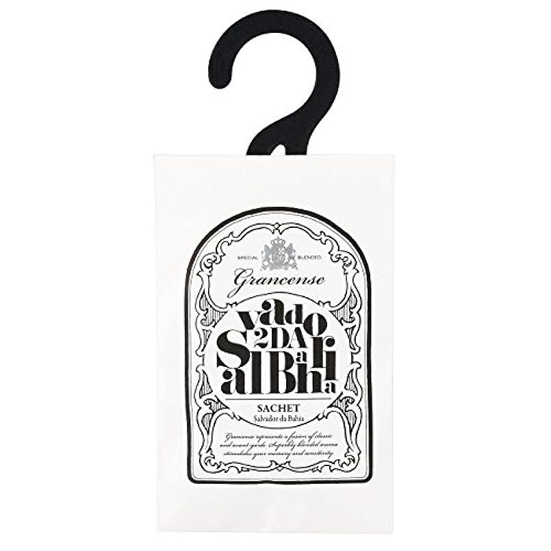 検出器のり機密グランセンス サシェ(約2~4週間) サルバドール 12g(芳香剤 香り袋 アロマサシェ ライムとミントの爽やかさにバニラの甘さを感じる南国のような香り)