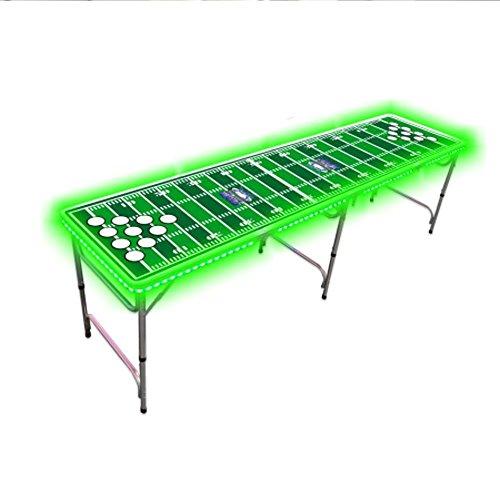 ビールPong Table with色LEDグローライトfo...