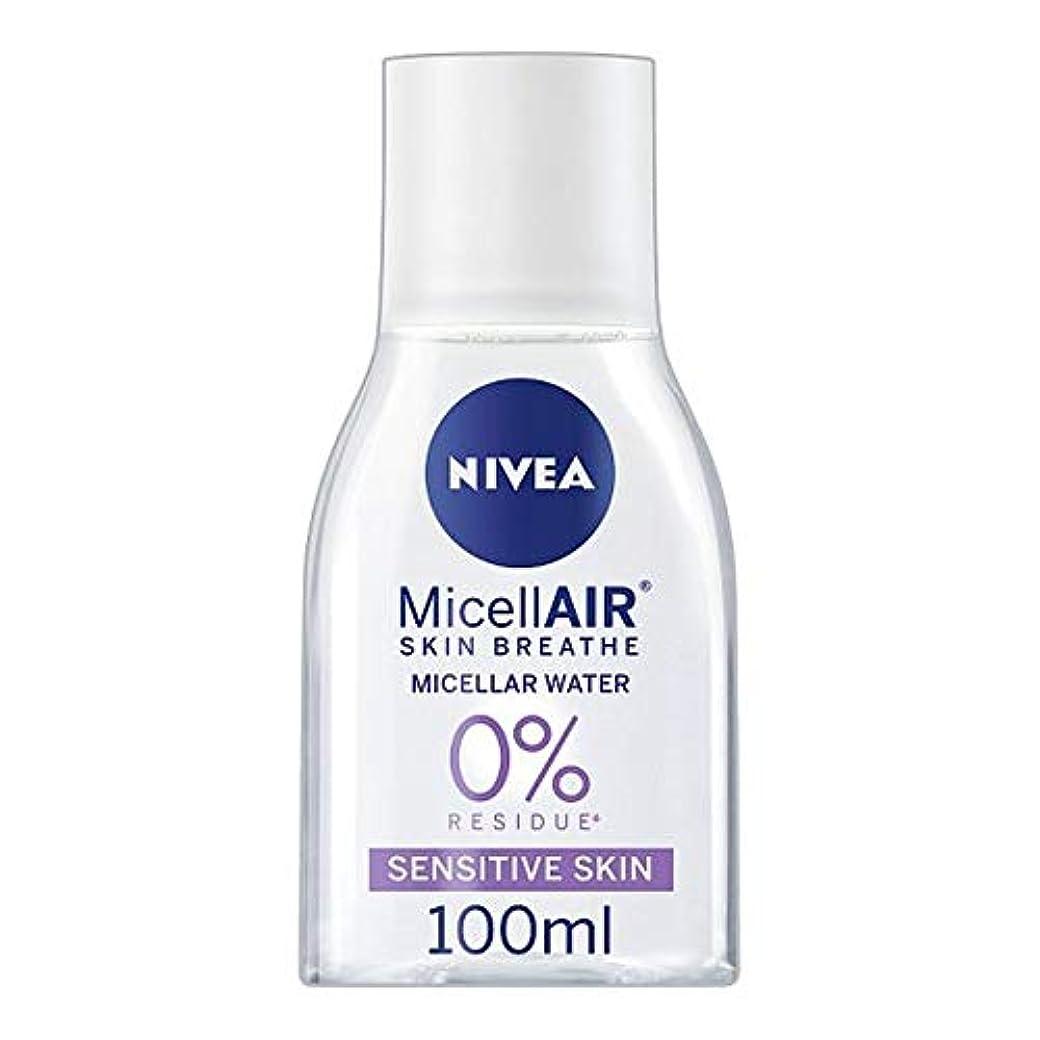不安定サンダルゴム[Nivea] ニベアMicellair水敏感肌用100ミリリットル - Nivea Micellair Water Sensitive Skin 100Ml [並行輸入品]