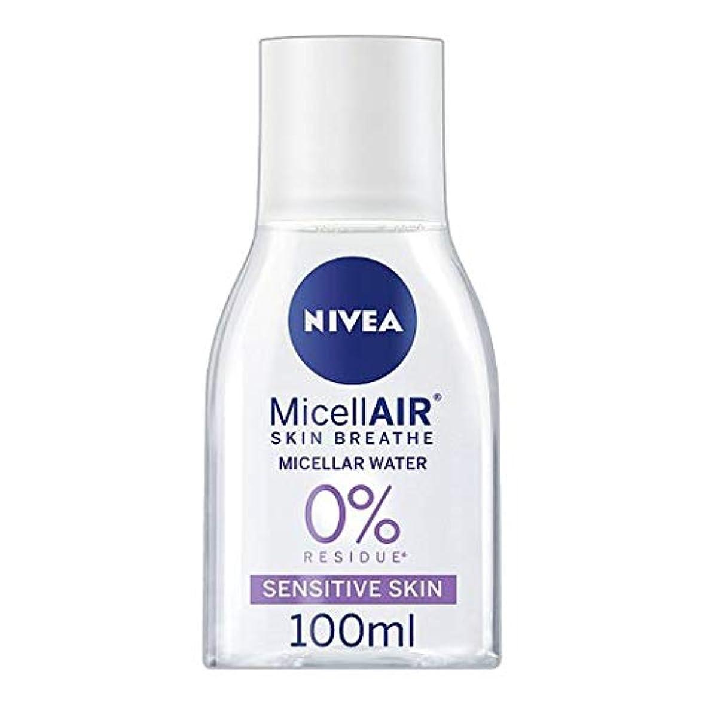不当姿勢死[Nivea] ニベアMicellair水敏感肌用100ミリリットル - Nivea Micellair Water Sensitive Skin 100Ml [並行輸入品]