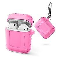 Kasitek AirPods ケース ワイヤレス イヤホン Bluetooth カバー 保護 シリコン カバー
