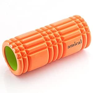 amical(アミカル) マッサージ 筋トレ フォームローラー Foam Roller オレンジ