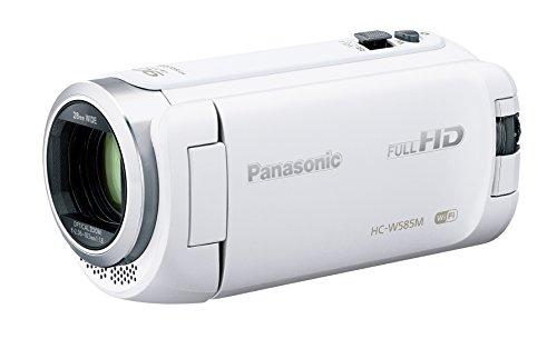パナソニック HDビデオカメラ W585M 64GB ワイプ撮り 高倍率90倍ズーム ホワイト HC...