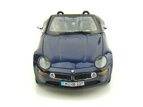Maisto (マイスト) BMW Z8 1/18 Blue MA36896-BL ミニカー ダイキャスト 自動車 (並行輸入)