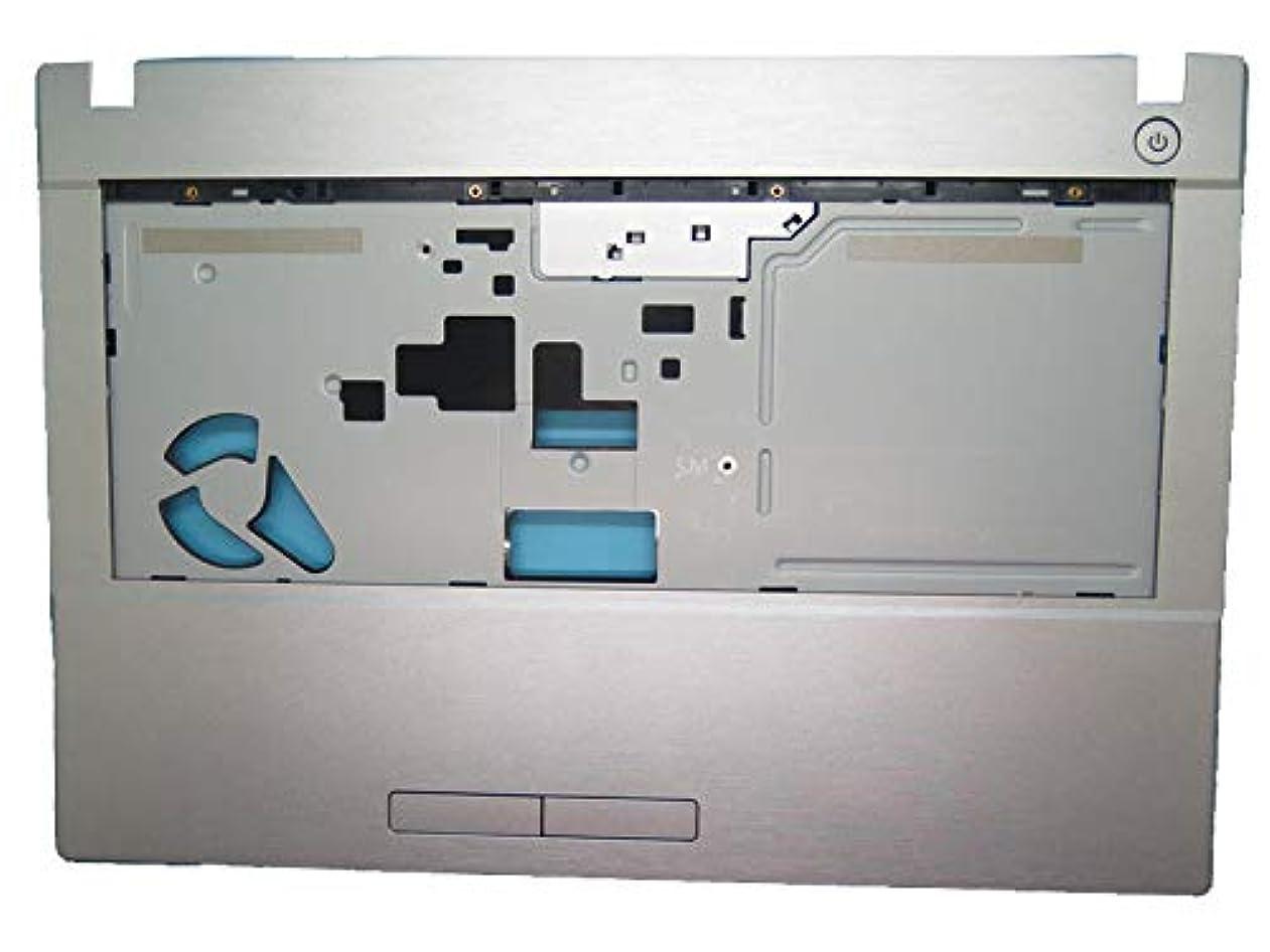 治安判事持っている余計な新品ノートパソコンパームレスト互換 CLEVO W540 6-39-W54CZ-S10-C 銀 タッチパッドなし