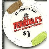 $ 1 TerriblesカジノチップFrontier St Josephs Missouri