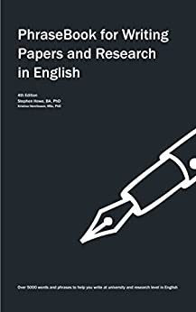 PhraseBook for Writing Papers and Research in English by [Howe, Stephen, Henriksson, Kristina]