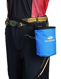 チョークバッグ ポケット 防水素材 軽量 登山袋 ロッククライミング 重量挙げ ボルダリング 体操 男女兼用 5色選べ