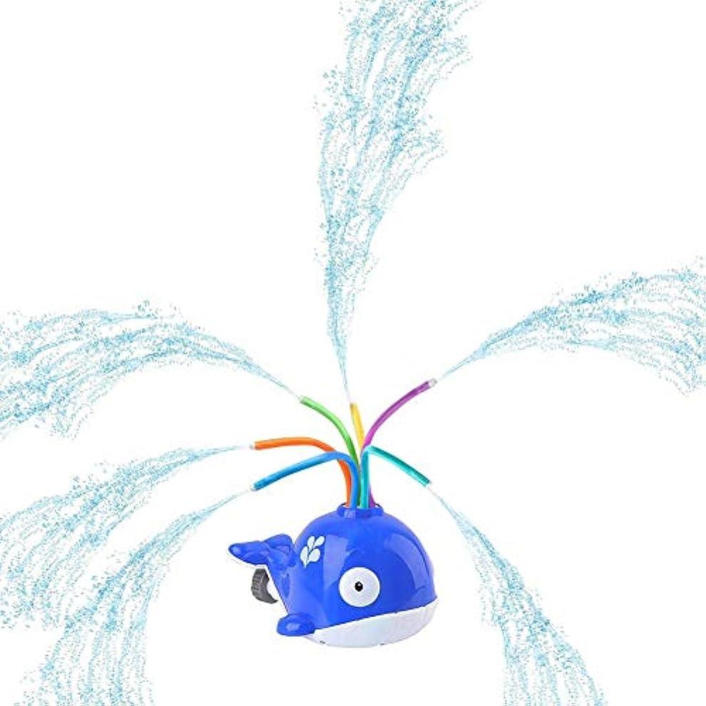 したがって後継専門知識子供水スプレーおもちゃ、浴室おもちゃクジラ浴槽水スプレー回転玩具ベビーギフト2 3 4年赤ちゃん用浴室裏庭