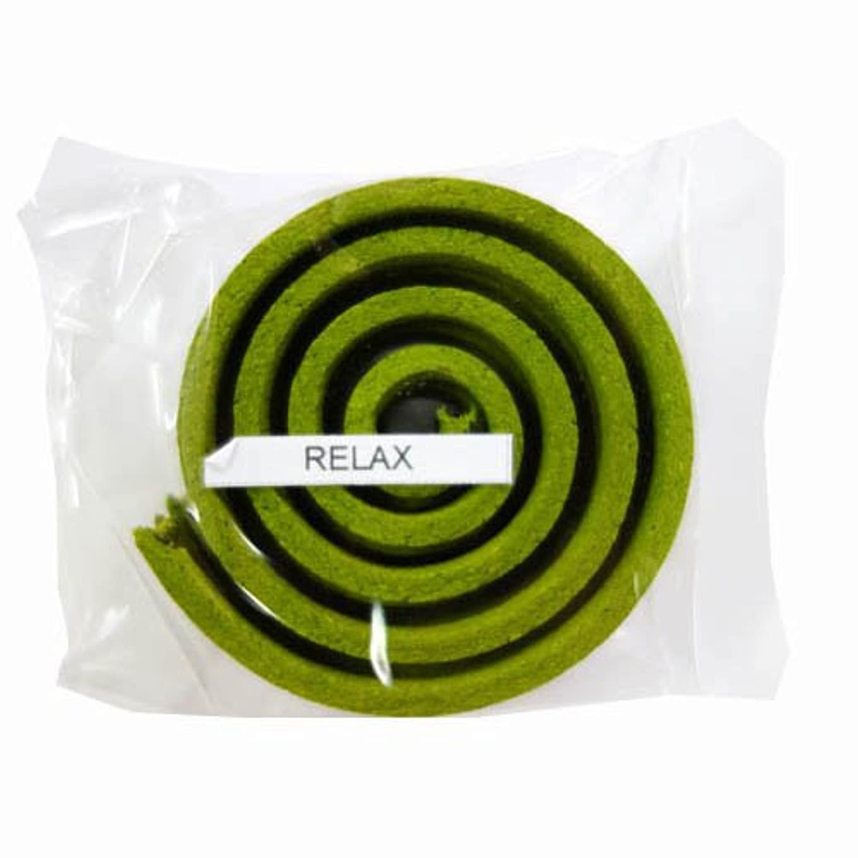 上下する媒染剤ホップお香/うずまき香 RELAX リラックス 直径5cm×5巻セット [並行輸入品]