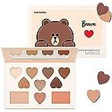 ミシャ[ラインフレンズエディション] カラー フィルター シャドウ パレット MISSHA [Line Friends Edition] Color Filter Shadow Palette #5. Brown [並行輸入品]