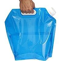 TINYPONY ウォーターバッグ 避難 防災グッズ 折りたたみ式 大容量 軽量 ウォータータンク ポータブル 水袋 繰り返し使用も可能 安全性も高い ブルー