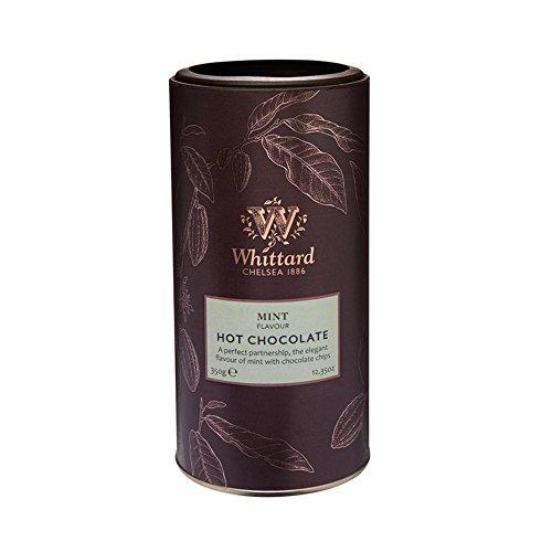 英国 Whittard (ウィッタード) ミントフレーバー ホットチョコレート 350g Mint Flavour Hot Chocolate [並行輸入品]