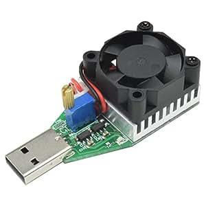 モバイル バッテリー ファン付き USB 放電器 リフレッシャー 15W 5V 3A 負荷調節可能