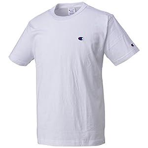 [チャンピオン]Tシャツ ベーシック メンズ ホワイト 日本 M (日本サイズM相当)