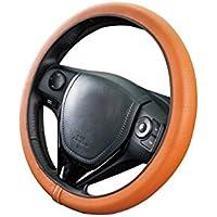ボンフォーム ハンドルカバー ネオフィットレザー ブラウン S:36.5~37.9cm リングレスタイプ 軽・普通車用 6703-15BR