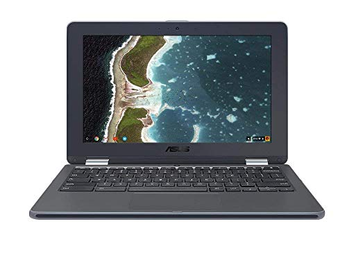 ASUS ノートパソコン Chromebook C213NA (Celeron N3350/4GB・eMMC 32GB/11.6インチ/ダークグレー) C213NA-N3350/A/日本正規代理店品
