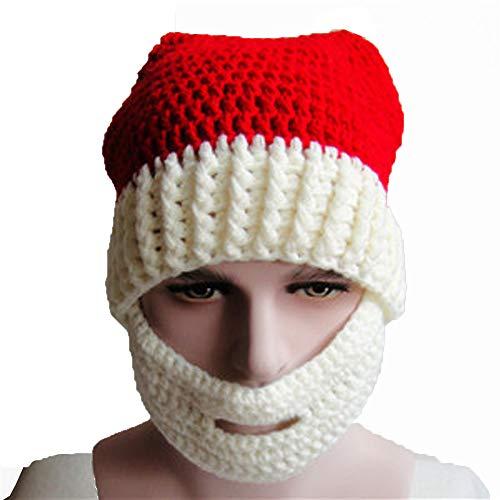 UOKNICE クリスマスニット帽 暖かい耳 クリスマスギフ...