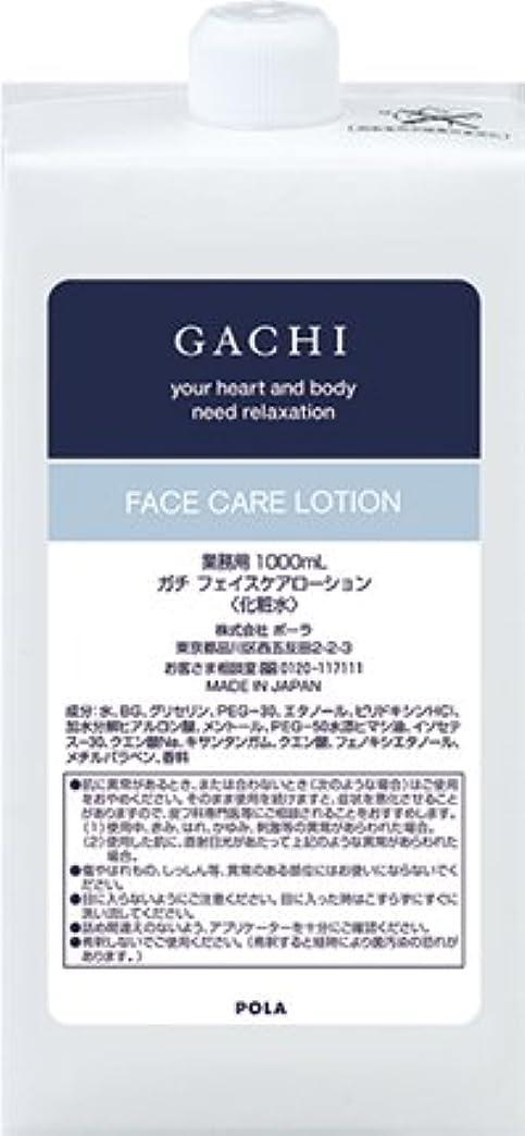 レインコート巨大なデンプシーポーラ POLA ガチ GACHI フェイスケアローション 化粧水 詰め替え 1L