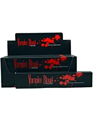 Nandita Vampire Blood Incense Sticks Agarbathi – 15 Gボックス ブラウン